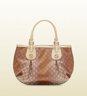 Gucci GG Canvas Scarlett Stud Interlocking G Tote