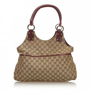 Gucci GG Canvas Shoulder Bag
