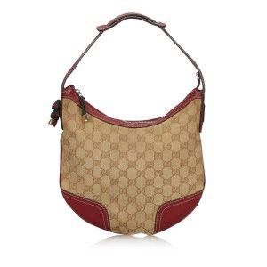 günstig kaufen vielfältig Stile erstaunlicher Preis Gucci GG Canvas Web Princy Shoulder Bag