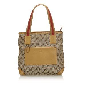 Gucci GG Canvas Web Shoulder Bag