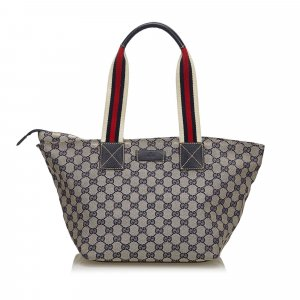 Gucci GG Canvas Web Shoulder Bag
