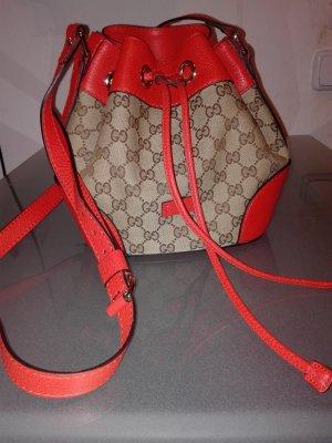 Gucci   GG  classik Bucket beige orange