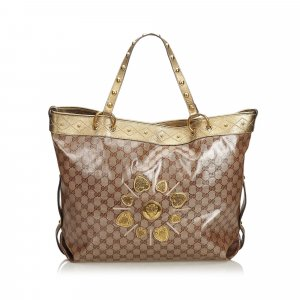 Gucci GG Coated Jacquard Irina Tote Bag