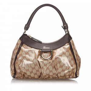Gucci GG Crystal Abbey Handbag