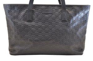 Gucci Sac porté épaule noir cuir