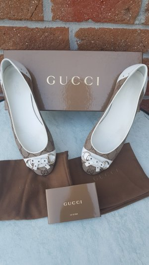 Gucci GG Horsebit Ballerinas