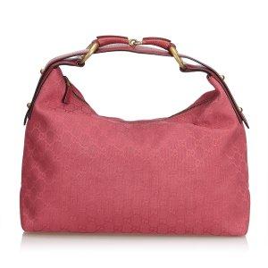 Gucci Borsa sacco rosa pallido