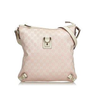 Gucci GG Jacquard Abbey Crossbody Bag