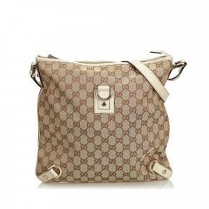 Gucci GG Jacquard Abbey Crossbody Bag