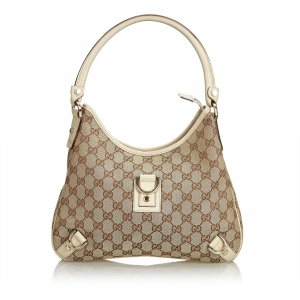 Gucci GG Jacquard Abbey Shoulder Bag