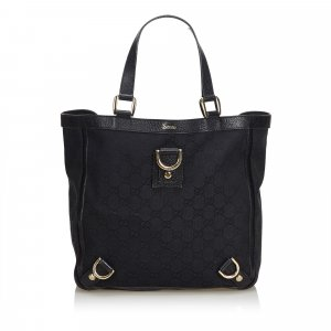 Gucci GG Jacquard Abbey Tote Bag