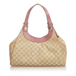 Gucci GG Jacquard Charmy Hobo Bag