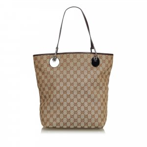 Gucci Borsa larga beige
