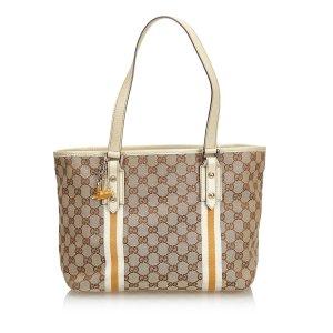 Gucci GG Jacquard Jolicoeur Tote Bag