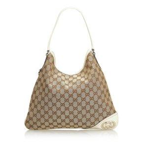 Gucci GG Jacquard New Britt Tote