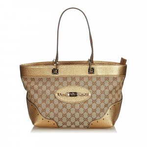 Gucci GG Jacquard Punch Tote