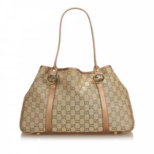 Gucci GG Jacquard Twin Tote Bag