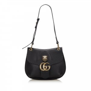 Gucci GG Marmont Animalier Shoulder Bag