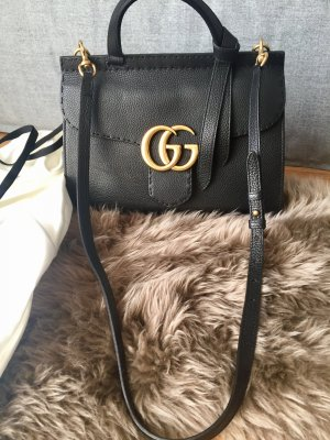 Gucci GG Marmont Leder Henkel Tasche