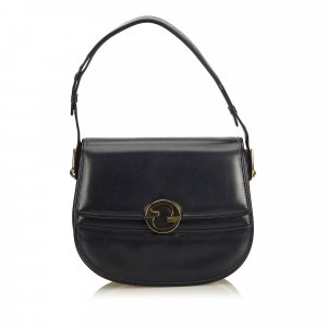 Gucci GG Medallion Leather Flap