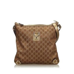 Gucci GG Nylon Abbey Crossbody Bag