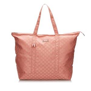 Gucci GG Nylon Tote Bag