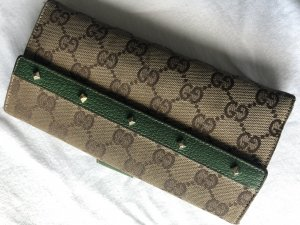 Gucci Wallet light brown-forest green