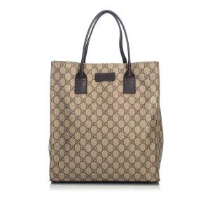 Gucci GG Supreme Coated Canvas Tote Bag