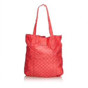 Gucci GG Teddy Bear Folding Tote Bag