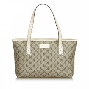 Gucci Tote beige polyvinyl chloride