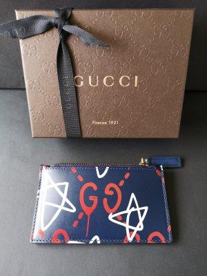 Gucci Tarjetero azul oscuro