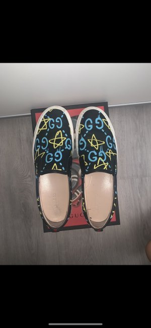Gucci Basket slip-on bleu clair