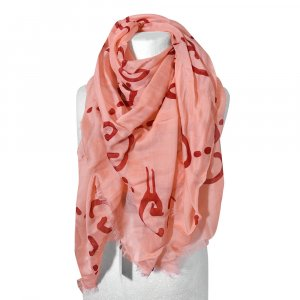 Gucci Kerchief pink-red