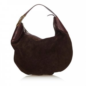 Gucci Glam Suede Hobo Bag