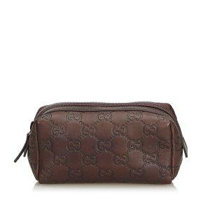 Gucci Guccisima Leather Pouch
