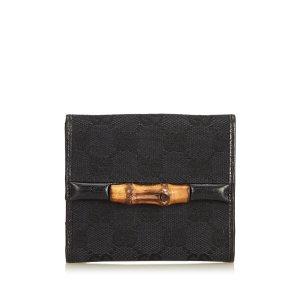 Gucci Guccissima Bamboo Jacquard Small Wallet