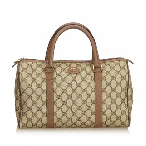 Gucci Guccissima Boston Bag