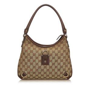Gucci Guccissima Canvas Abbey Shoulder Bag