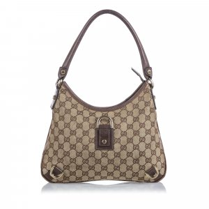 Gucci Guccissima Canvas Abbey Shoulder Bag