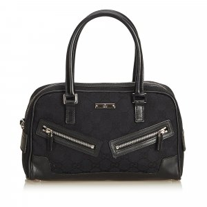 Gucci Guccissima Canvas Boston Bag