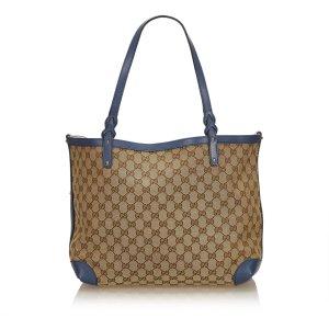 Gucci Guccissima Canvas Craft Tote Bag