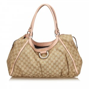 Gucci Guccissima Canvas D-Ring Sukey