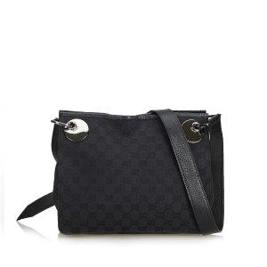 Gucci Guccissima Canvas Eclipse Crossbody Bag