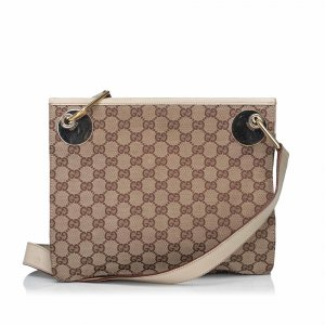 Gucci Guccissima Canvas Eclipse Crossbody Bag