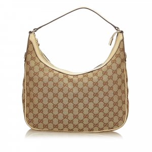 Gucci Guccissima Canvas Hobo Bag