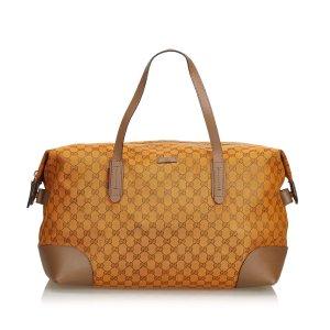Gucci Guccissima Canvas Travel Bag