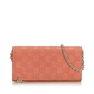 Gucci Guccissima Chain Wallet