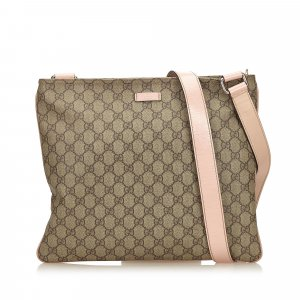 Gucci Guccissima Coated Canvas Crossbody Bag