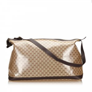 Gucci Guccissima Coated Canvas Duffel Bag