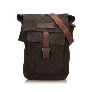 Gucci Guccissima Cotton Crossbody Bag
